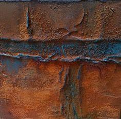 Wilma's hobby blog: Rusty Powder op canvas