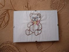 Vyšívaný medvídek