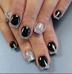 Great New Year's Eve nails
