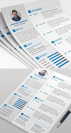 Clean and Professional Free Resume Templates and Resume Cover letter designs are freely available for personal and commercial usage. Clean Resume Templates come Simple Resume Format, Basic Resume, Simple Resume Template, Resume Design Template, Creative Resume Templates, Cv Template, Templates Free, Cv Format, Free Professional Resume Template