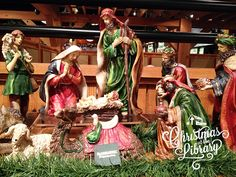 Nativity available at Ruth's Attic inside The Billy Graham Library