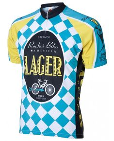 Moab Brewery Bike American Lager Beer Cycling Jersey by World Jerseys  Medium Mens Short Sleeve    Check this awesome product by going to the link  at the ... ccf5f6feb