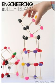 Engineering for Kids | Building with Jelly Beans