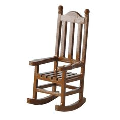 Brown Rocking Chair