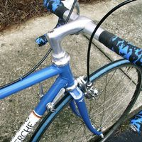 Dave Moulton's Blog. I don't shift often, and have always liked the look of down-tube shifters.