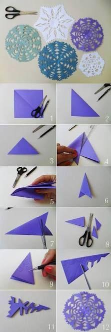 Image result for como fazer dobradura de papel com corte