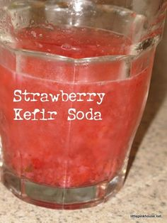 Water kefir recipe!