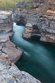 ✯ Abisko River Canyon - Sweden