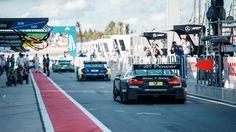 DTM 2015 Moscow Raceway - Pitlane