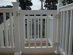 Pool Deck Gate Ideas trex deck gate ideas for your pool more Idea For Front Porch Gate