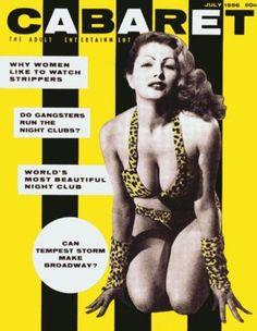 Cabaret. Vol.2 No. 3 July 1956