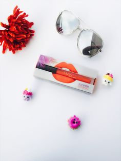 Huda Beauty Liquid Matte Lipstick Summer Edition in Mamacita is the perfect lipcolor to get the holiday punch. It is a perfect color for medium to tan skintones.  #makeup #lipstick #products #lips
