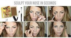 Consigue una nariz perfecta con maquillaje, ¡apunta este tutorial!