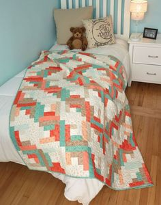 Weekend Cabin Quilt - Quilting Digest