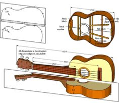 tenor_ukulele_cad_drawing