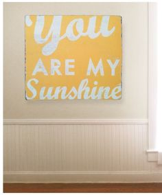 You Are My Sunshine Extra Large 34x31 by GoJumpInTheLake on Etsy, $125.00