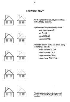 Centrum učebnic CZ - Pražská pedagogicko-psychologická poradna, Rezková, V. - Zelinková, O. - Tumpachová, L., Koncentrace pozornosti - soubor pracovních listů