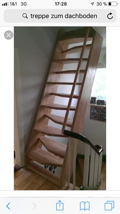 Morton Building, Attic, Ladder, Stairs, Design Inspiration, House, Home Decor, Pasta, Attic Rooms