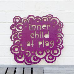 Inner Child at Play by spunkyfluff on Etsy, $39.00