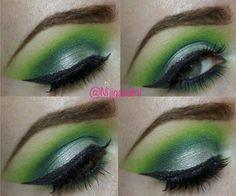 Neon Green Chrome