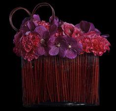 subtle Valentine's treat by floral designer Sandra de Ovando