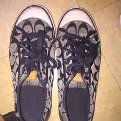 Coach shoes Pretty worn but still have a lot of life Coach Shoes Sneakers