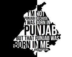 ❤ Being punjabi