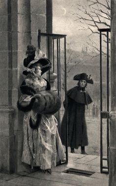 fapoleon-bonerparte:  Napoleon and the Grisette from The Life of Napoleon byWilliam Hazlitt