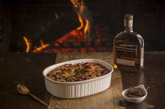 Our number one most requested recipe, Woodford Reserve Chocolate Bread Pudding is a cherished tradition at the Woodford Reserve Distillery. WOODFORD RESERVE CHOCOLATE BREAD PUDDING WITH BOURBON BUTTER SAUCE (Serves 12-15) 1 quart whole milk 12 cups stale French bread, diced in 1-inch cubes 3 eggs, beaten 1 3/4 cups sugar 1 tablespoon vanilla 1Read more