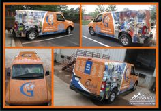 Global Electronic Services will be noticed with this luminous design! One vehicle wrap can generate between 30,000 - 70,000 impressions daily. Let your vehicle do the marketing for you! Need a quote? #carwraps #wraps #vehiclegraphics http://www.pinnaclecustomsigns.com/con…/request-an-estimate/