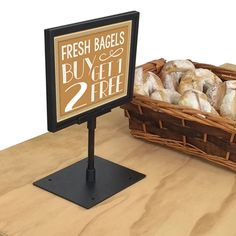 Best Table Top Clip On And Magnetic Sign Holders Images On - Restaurant table top sign holders