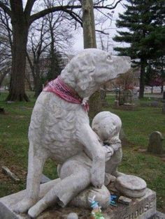 Woodland Cemetery (Ohio) remembers Johnny Morehouse and his dog - Legend has it… Cemetery Monuments, Cemetery Statues, Cemetery Headstones, Old Cemeteries, Cemetery Art, Graveyards, Angel Statues, La Danse Macabre, Steinmetz