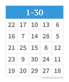 69 Best Bingo Numbers Images Free Printable Bingo Cards