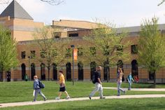 Eppler Center - Home to the School of Human Movement, Sport and Leisure Studies, the fitness and sport physiology lab, an indoor track and a gymnasium.