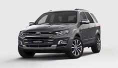Сегодня в Сети появились снимки внедорожника Territory, которому суждено стать последним построенным на австралийском заводе автомобилем марки. Форд планирует завершить производство там в 2016 году.