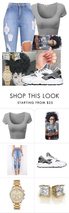 """""""Ok"""" by fashionismypashion476589 ❤ liked on Polyvore featuring NIKE and Michael Kors"""