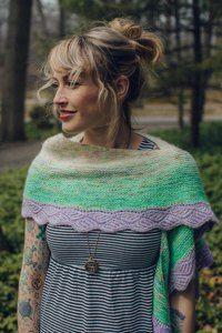 DreaReneeKnits - Mix & Mingle Shawl Knitting Pattern | LoveKnitting