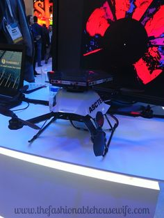 #CES2015 #IntelTablets #Intel We saw a lot of drones at the show that were quite impressive. They are more than just an interesting toy. Many have very practical uses!