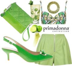 Un fresco cocktail in stile retrò, solo con Primadonna Collection!     Pochette euro 30,99   Décolletée ★ SPECIAL PRICE ★ euro 39,99