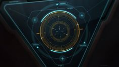 Rocket Launcher Aiming FUI concept animation by Evgeny Rodygin