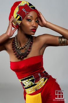 African fashion is so rich, and beautiful.