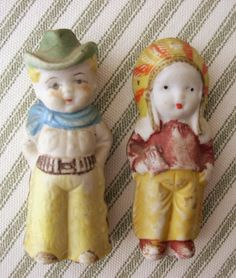 Let's Play Cowboys and Indians .. Frozen Charlotte Dolls