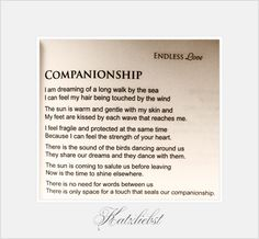 This poem was selected to be part of an anthology.~Endless Love~