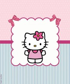 Hello Kitty Backgrounds, Hello Kitty Images, Cat Party, Little Twin Stars, Cute Cartoon Wallpapers, Minnie, Print And Cut, 3rd Birthday, Kawaii