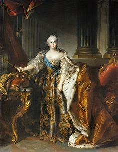 Elizabeth of Russia by Louis Tocque (1756) - Wikimedia Commons