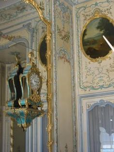 Versailles - ♥ the turquoise rococo clock