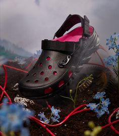 Post Malone, Crocs, Size 10 Women, Black Exterior, Size 9 Shoes, Gq, Pink, Footwear, Things To Sell
