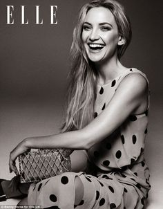 'It was all very old-fashioned and proper.': Kate Hudson on her romance with Matt Bellamy Kate Middleton Dress, Princess Kate Middleton, Kate Hudson, Elle Magazine, Magazine Covers, Up Girl, Famous Faces, Girl Crushes, My Idol