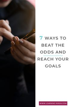 Discover 7 ways to beat the odds & finally reach your goals! We often fail because we actually do goal setting wrong. You can also download a free daily goal planner...🌸  #mindset #businessadvice #moveon #getbetter #nextlevel #motivation #inspiration #help #bebetter #getbetter #lifehacks #goals  #succeed #improve #inspirational #inspireme #levelup #lifeisfun #beyou #believeinyou #trustinyou #career Believe In You, You Can Do, Daily Goals, Goals Planner, Level Up, Business Advice, Lifehacks, Motivation Inspiration, Inspire Me