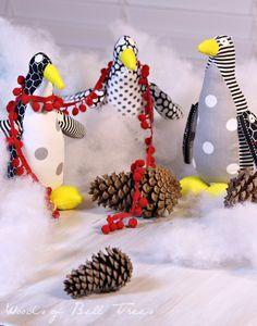 Stuffed Penguins for